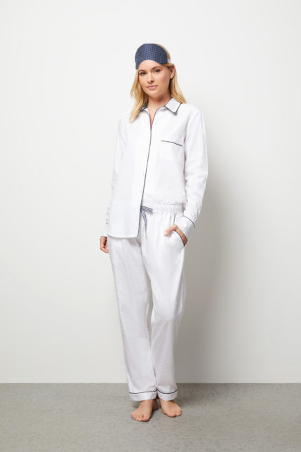 The Lily Pyjama Set Long Sleeve - Front view