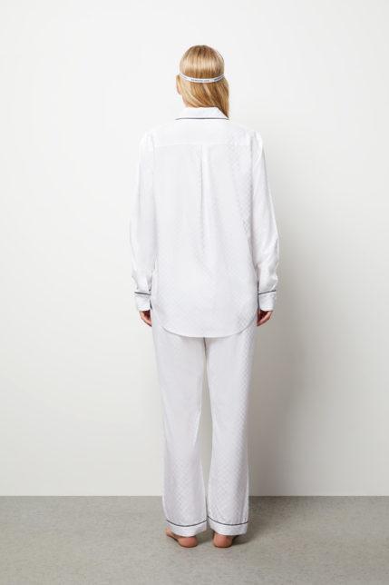 The Lily Pyjama Set Long Sleeve - Rear view