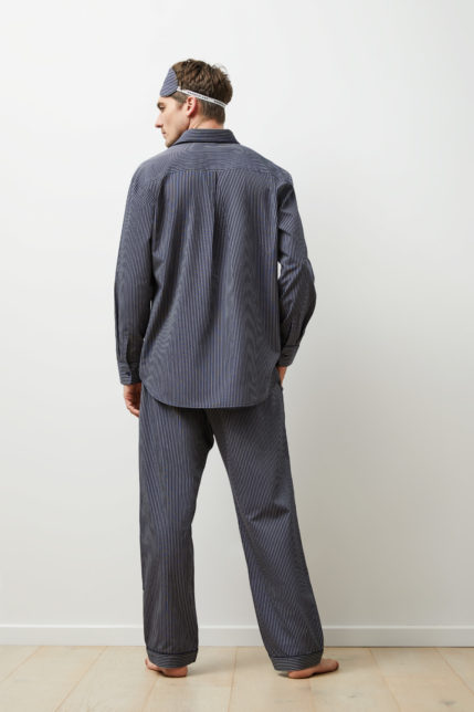 The Merricks Pyjama Set Long Sleeve - Rear view