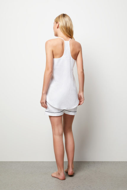 The Lily Camisole Boxer Set - Rear view