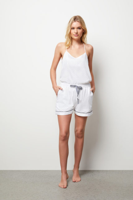 The Lily Camisole Boxer Set - Front view