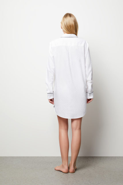 The Lily Night Shirt - Rear view