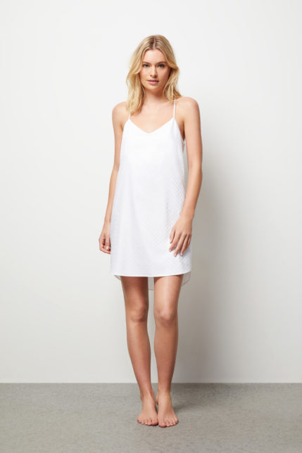 The Lily Camisole Slip Dress - Front view