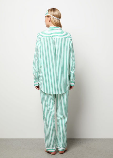 The Willow Pyjama Set Long Sleeve - Rear view