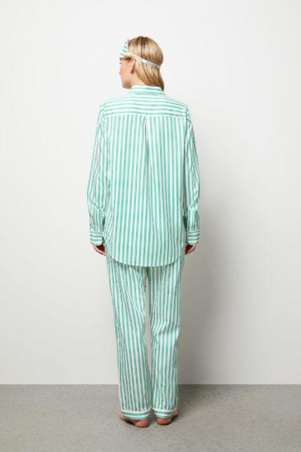 The Willow Pyjama Set Long Sleeve - Rear view