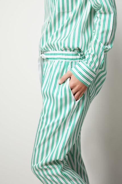 The Willow Pyjama Set Long Sleeve - Side view
