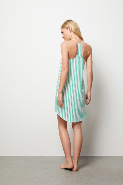 The Lily Camisole Slip Dress - Rear view