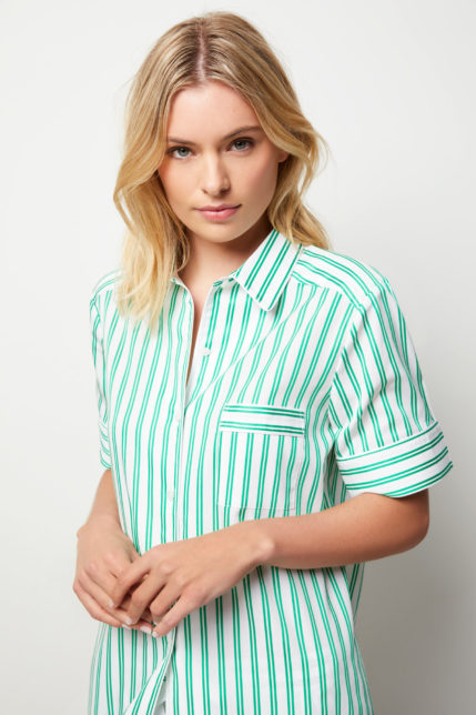 The Willow Pyjama Set Short Sleeve - Front view
