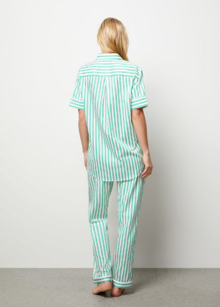The Willow Pyjama Set Short Sleeve - Rear view