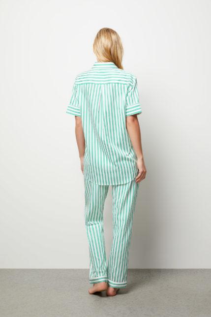 The Willow Pyjama Set Short Sleeve - Rear view
