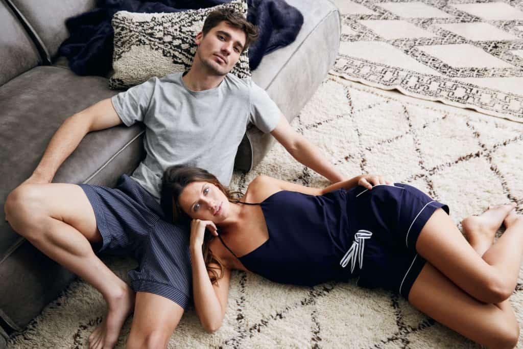 Blair Camisole Boxer set and Merricks Grey T-shirt